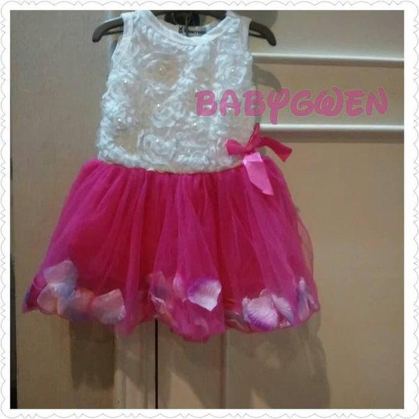 MURAH baju gaun pesta bayi anak perempuan Murah