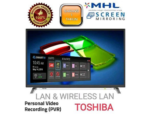 SMART TV LED TOSHIBA 32L5650 32 INCH
