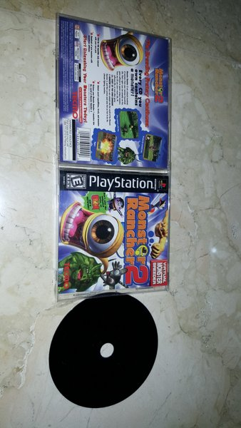 PS1 Monster Rancher 1 & 2 Black Label
