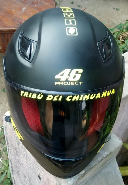 Sticker Helm AGV 46 Project