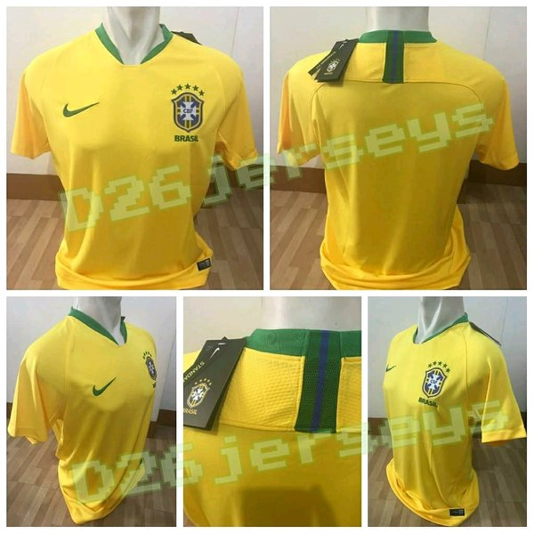 Jersey Brasil home Piala Dunia 2018 NIKE STANDARD FIT Edition OFFICIAL