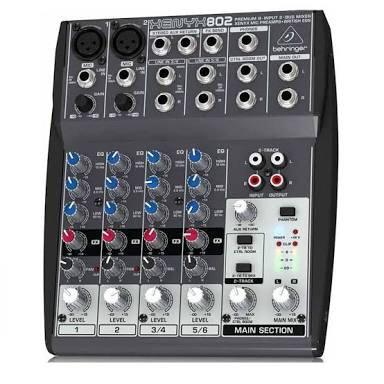 Murah !!! Mixer Behringer XENYX 802 ( 6 channel )
