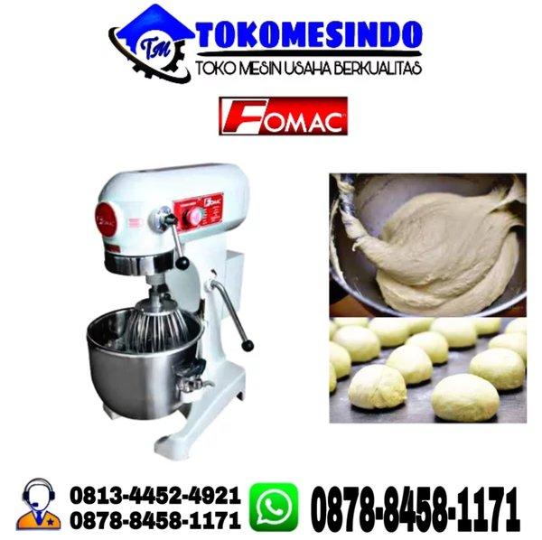 mesin mixer roti alat pengaduk adonan kue 15L MURAH fomac