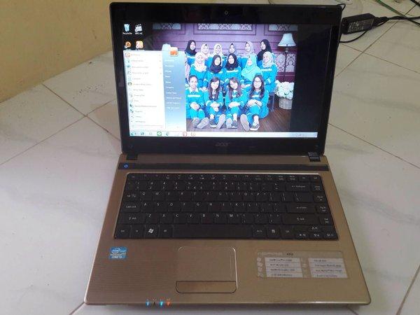 acer aspire 4752 core-i3 2330-M RAM2gb HDD 500gb