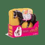 Black Velvet Foal Toy Horse For 18 Inch Dolls Our Generation