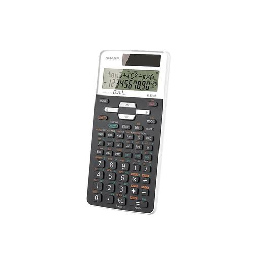 Sharp EL531XTBWH Calculatrice Scientifique