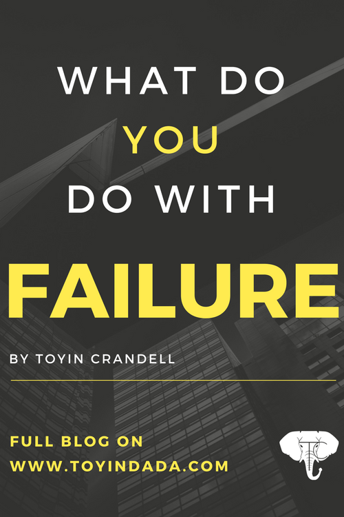 what do you do with failure? handling failure