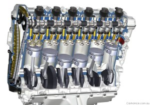 BMW developing bike size sixcylinder engine  Photos (1 of 6)