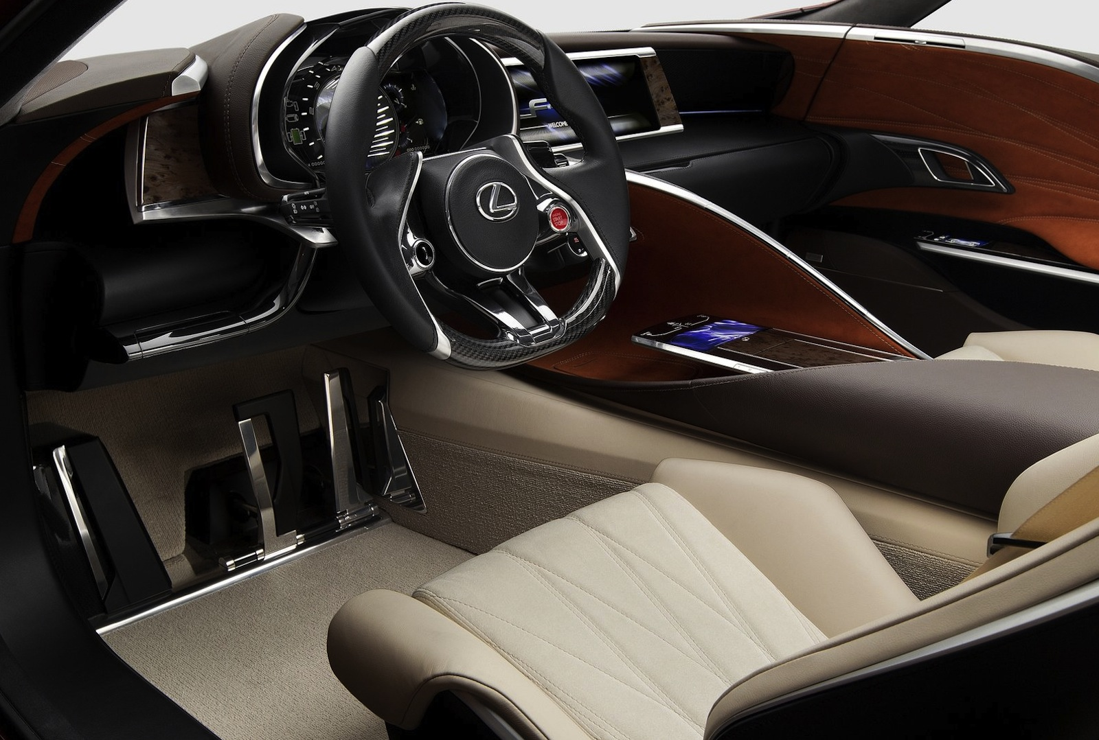 Lexus LF LC Concept To Become Production Reality By 2015