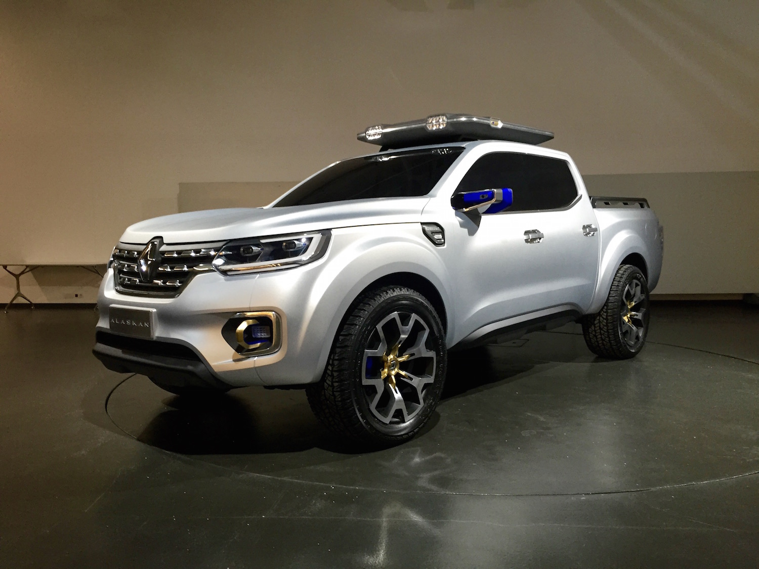 Renault Alaskan Ute Up Close And Personal With The French
