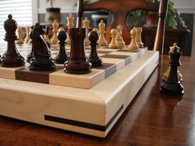 Exquisite American Hardwood Chessboards