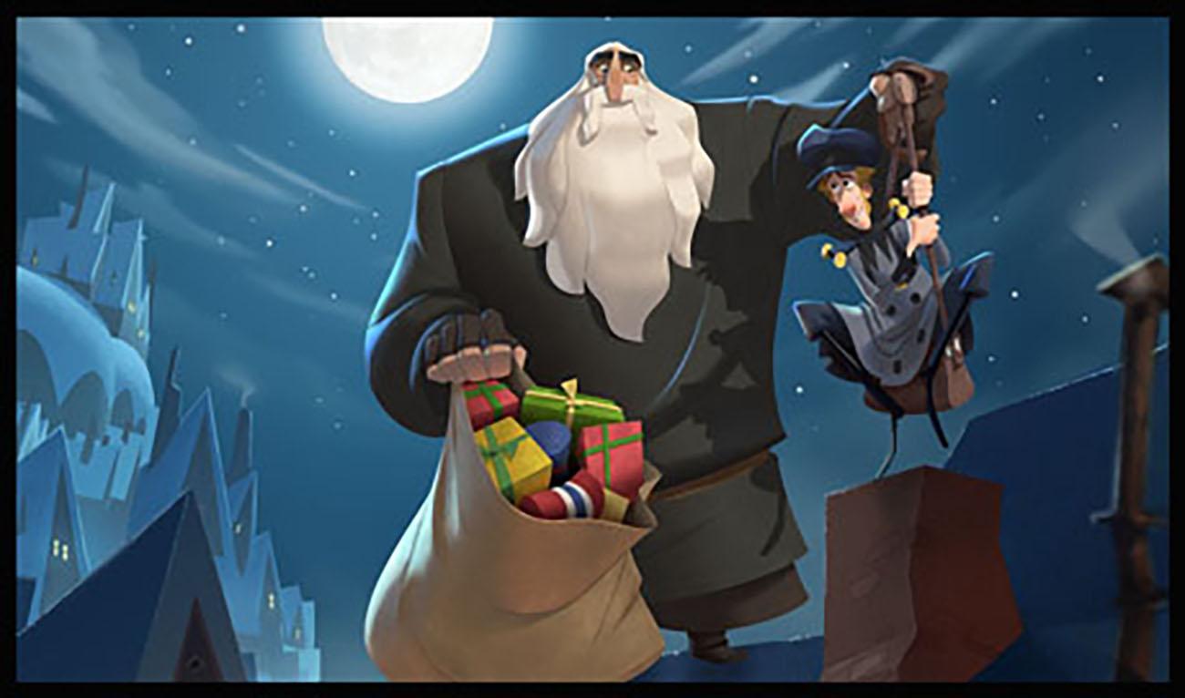 Cinco Santa Claus de la pantalla