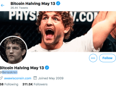 UFC Fighter Changes Twitter Name to Promote Bitcoin Halving