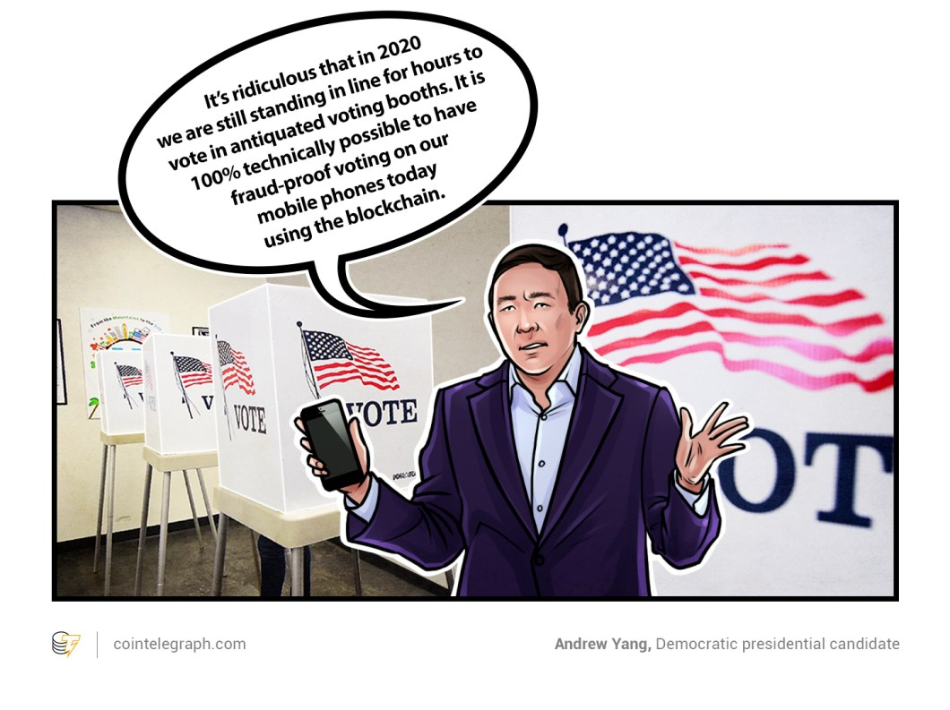 Andrew Yang, Democratic presidential candidate