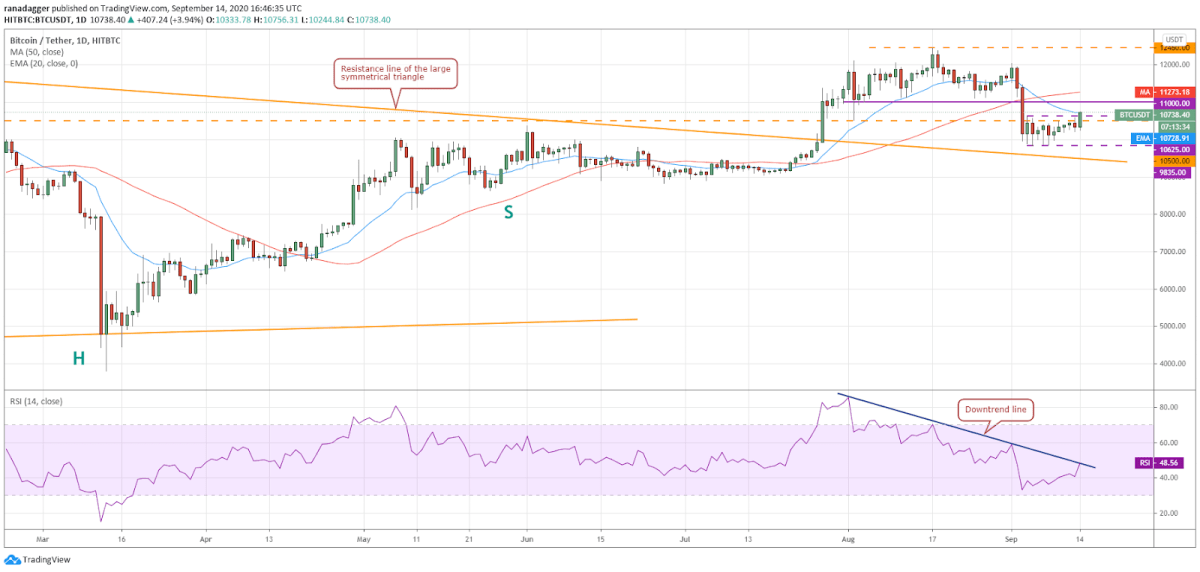 BTC/USD daily chart. Source: TradingView