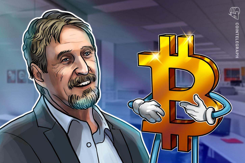 """Photo of John McAfee Calls His Own $ 1 Million Bitcoin Price Forecast """" Nonsense """""""