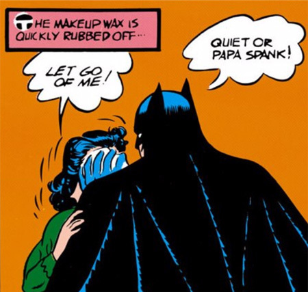 Image result for batman quiet or papa spank
