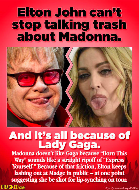 24 Famous People You Didn't Know Hated Each Other