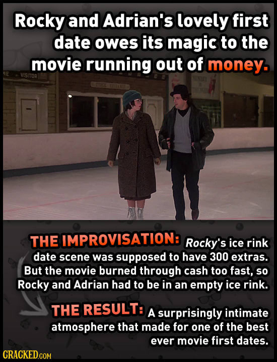 Iconic Onscreen Moments Made Possible By A Lack Of Money