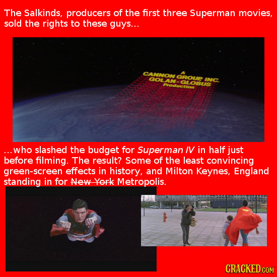 21 Lazy Special Effects in Big-Budget Movies
