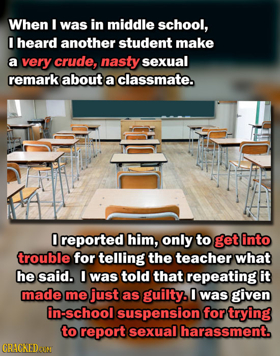 Idiotic Things You Were Punished For, For Real