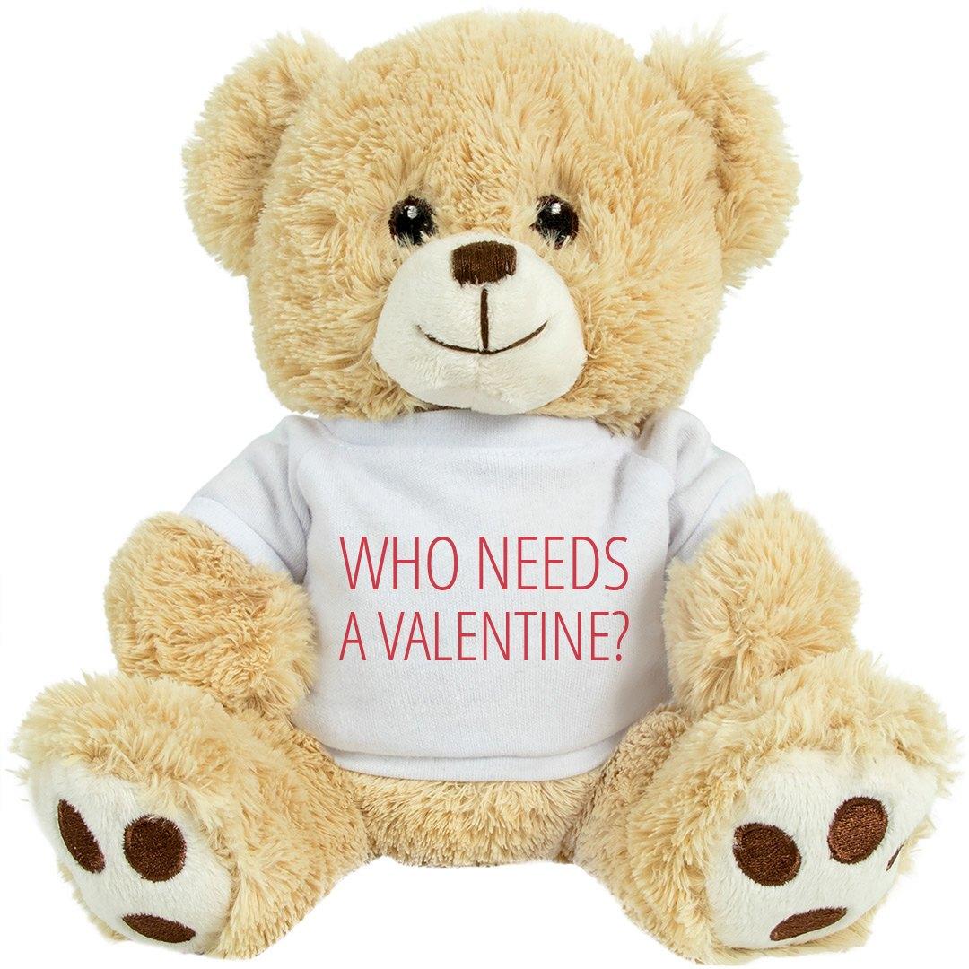 Anti Valentine Teddy Bear 8 Inch Teddy Bear Stuffed Animal