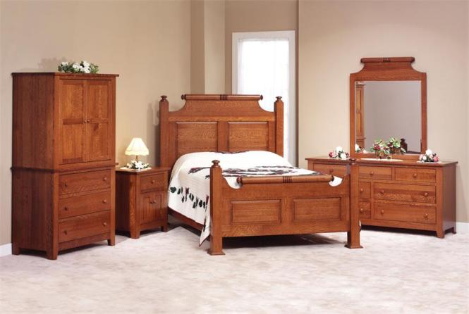 Holmes County Amish Made Bedroom Furniture Set In White Oak. White Oak Bedroom Drawers   Bedroom Style Ideas