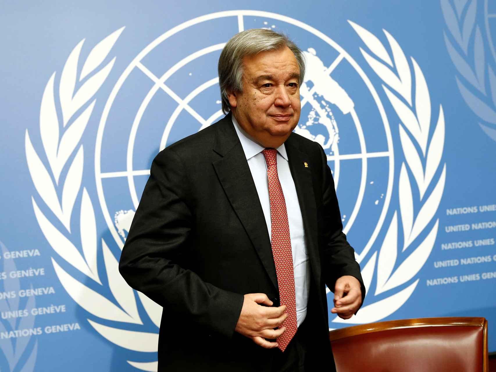 Guterres gobernó Portugal entre 1995 y 2002.