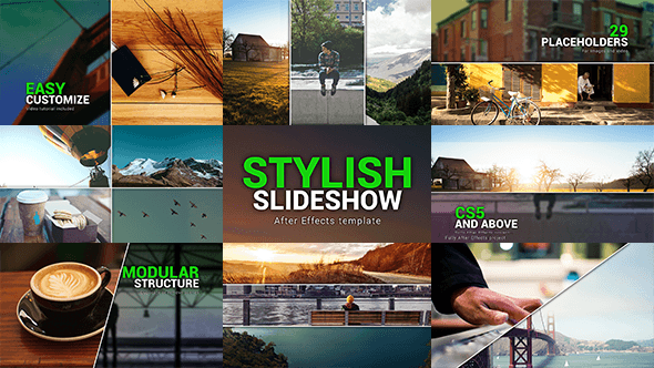 Stylish Slideshow by frollibas | VideoHive