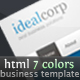 IdealCorp, negócio | tema corporativo - ThemeForest Item à venda