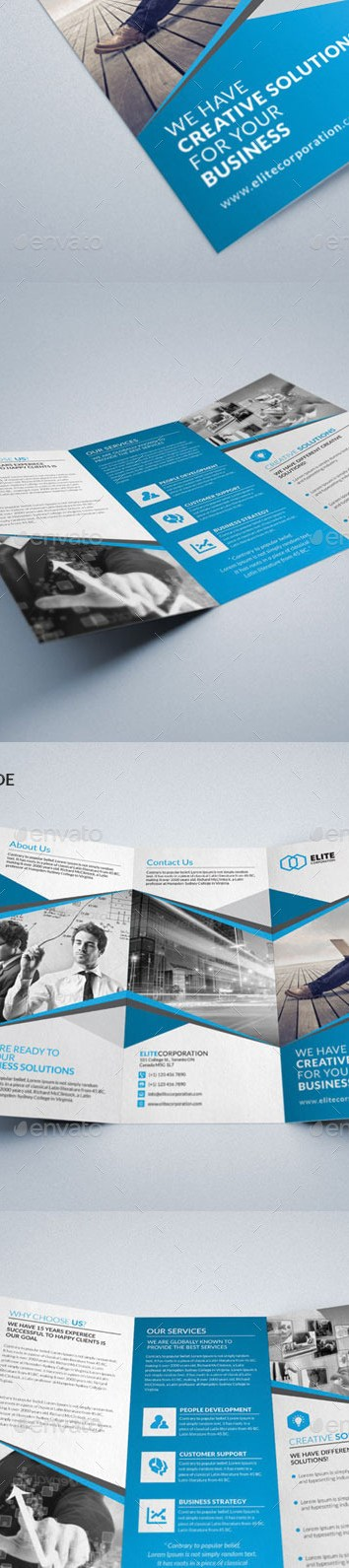 HD Decor Images » Trifold Brochure Graphics  Designs   Templates from GraphicRiver