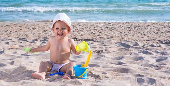 Image result for child on sand