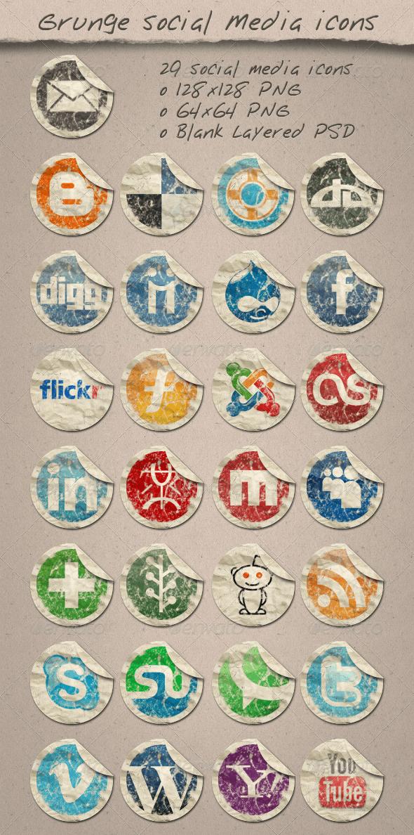 Grunge Icons