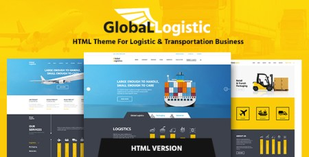 Global Logistics   Transportation HTML Template by ThemeREX     Global Logistics   Transportation HTML Template   Business Corporate