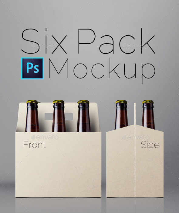 Download Six Pack Mockup by nice_incredible | GraphicRiver