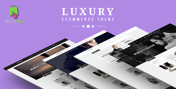 Luxury Fashion eCommerce Responsive Prestashop Theme V1.6 & V1.7.1