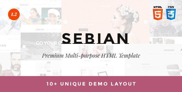 SEBIAN - Multipurpose eCommerce HTML5 Template