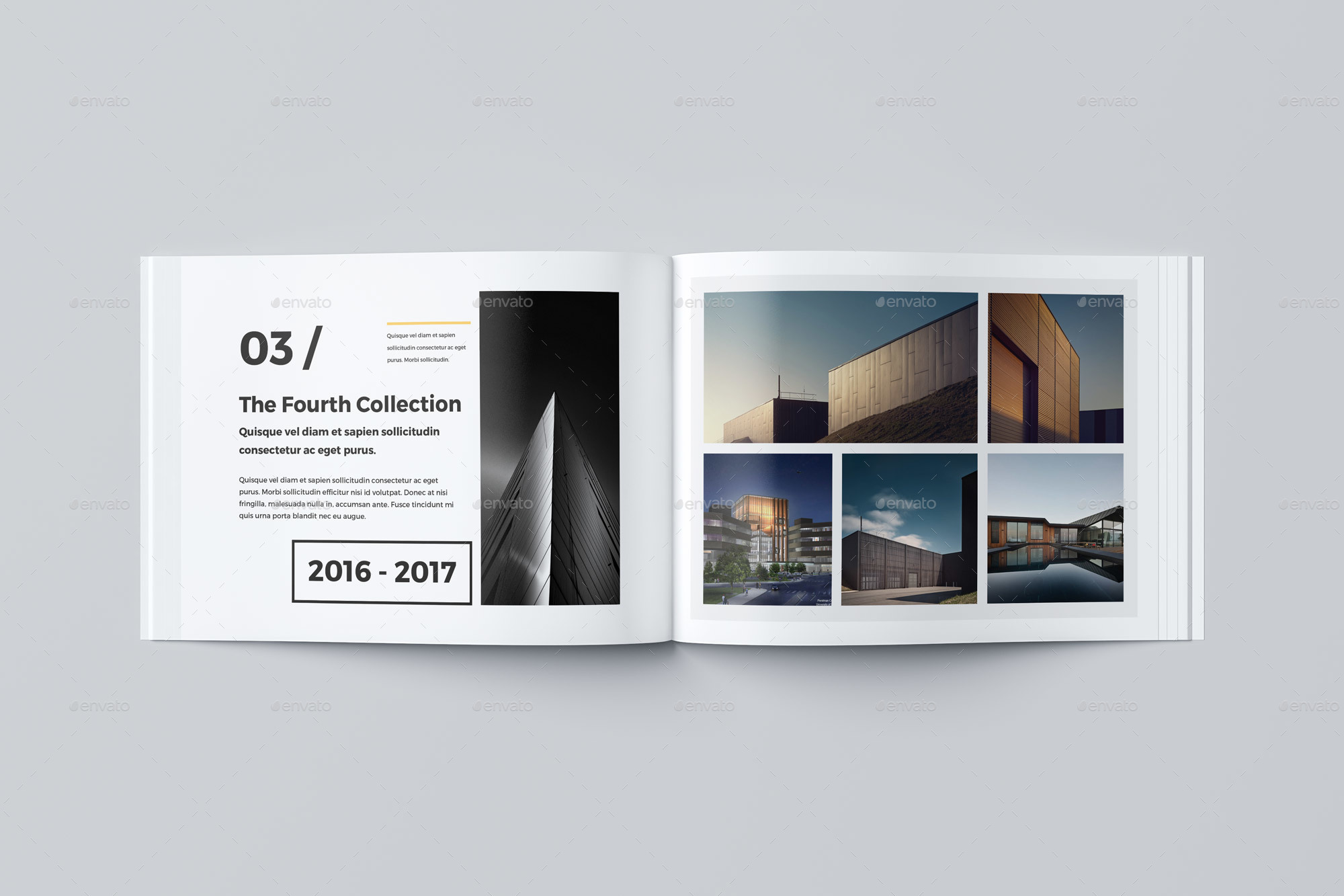 Our Portfolio Architecture 24 Pages A4 Amp A5 By Pro Gh GraphicRiver