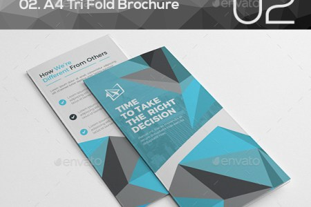 Tri Fold Brochure Bundle 2 in 1 by CRISTAL P   GraphicRiver Tri Fold Brochure Bundle 2 in 1   Corporate Brochures