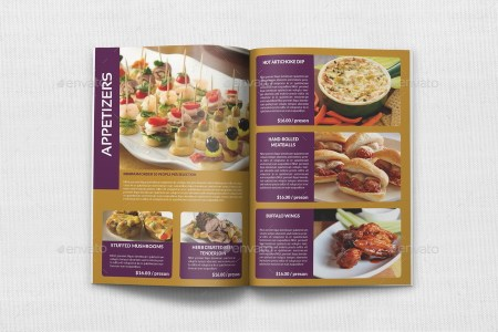 catering brochure templates   Thevillas co catering brochure templates