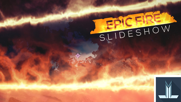 Epic Fire Slideshow by LLmotion | VideoHive