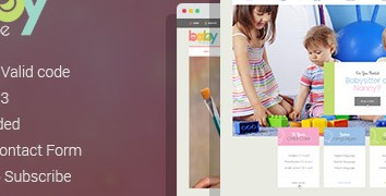 HD Decor Images » BabyTime   Babysitter  Nurse and Preschool Education HTML Template     BabyTime   Babysitter  Nurse and Preschool Education HTML Template    Miscellaneous Site Templates