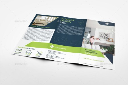 Furniture Products Catalog Tri Fold Brochure Template Vol 2 by     Furniture Products Catalog Tri Fold Brochure Template Vol 2