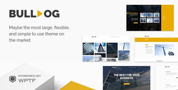 Bulldog - Construction - Architect - Building - Builder Multipurpose Theme