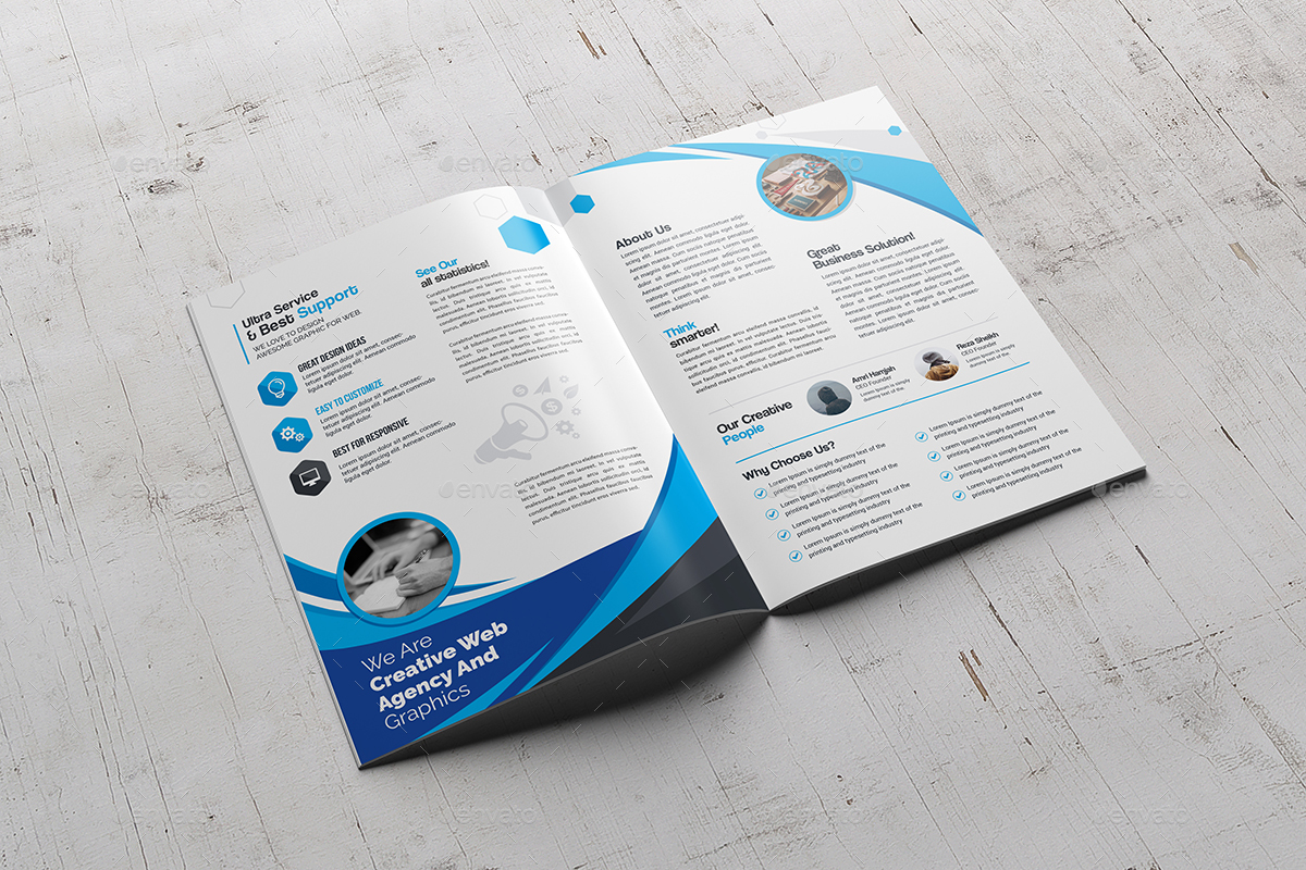 images for bifold brochure template