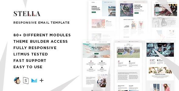 Natasha - Responsive Email + StampReady Builder - 1
