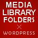 WordPress Real Media Library - Media Categories / Folders File Manager