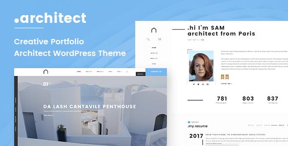 Architecture Interior WordPress Theme   Architect