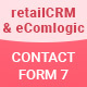 Contact Form 7 - retailCrm & eComlogic - Lead Generation