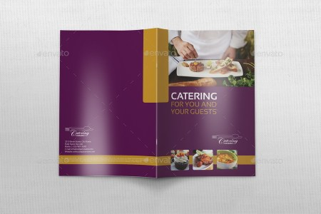 Catering Brochure Bundle Template by OWPictures   GraphicRiver Catering Brochure Bundle Template